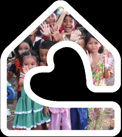 HOL children in house logo